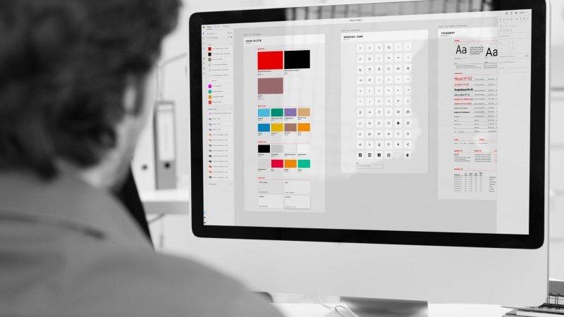 Entwicklung des UI-Design-Systems