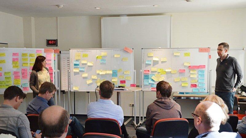 Mit Mitarbeiter der Map GmbH entwickeln wir die Sortimentsstrategie und die Positionierung der Marke Billy Boy