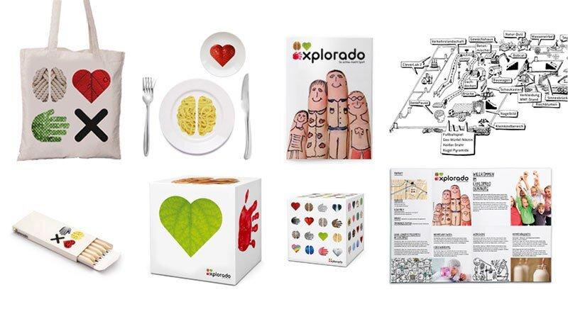 Design für Kindermuseum Explorado Spielartikel