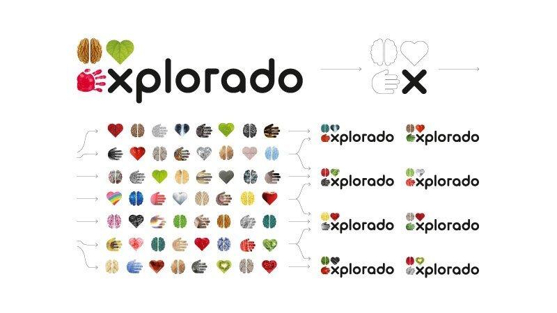 Design für Kindermuseum Explorado Logo