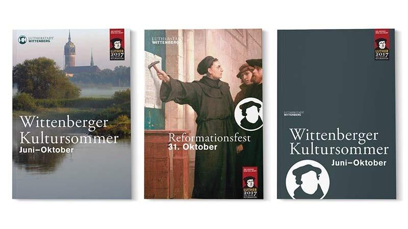 3 Titelmotive im CD der Lutherstadt Wittenberg