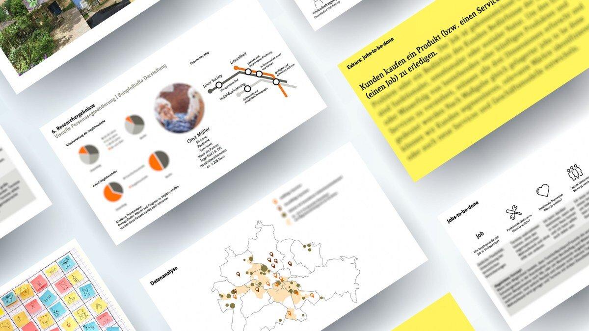 Kundensegmentierung_Service Design_Übersicht der Ergebnisse