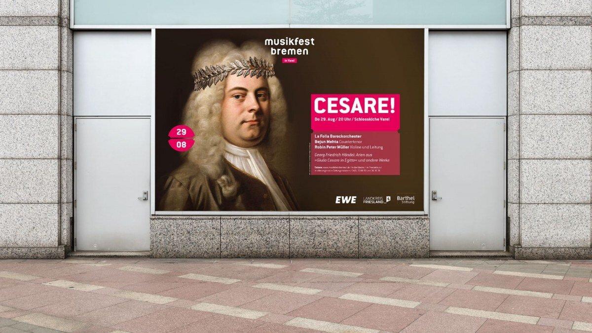 Kampagne und Corporate Design nach CD Relaunch des Musikfest Bremen