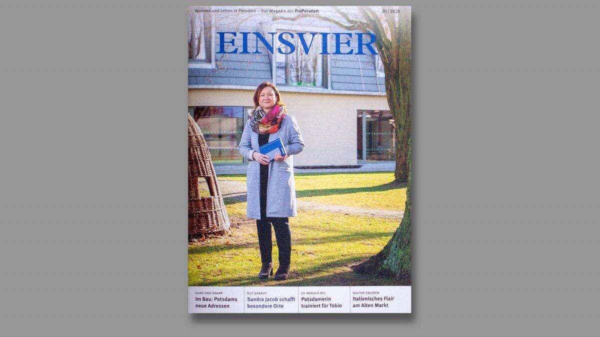 Editorial Design vom EINSVIER Mietermagazin