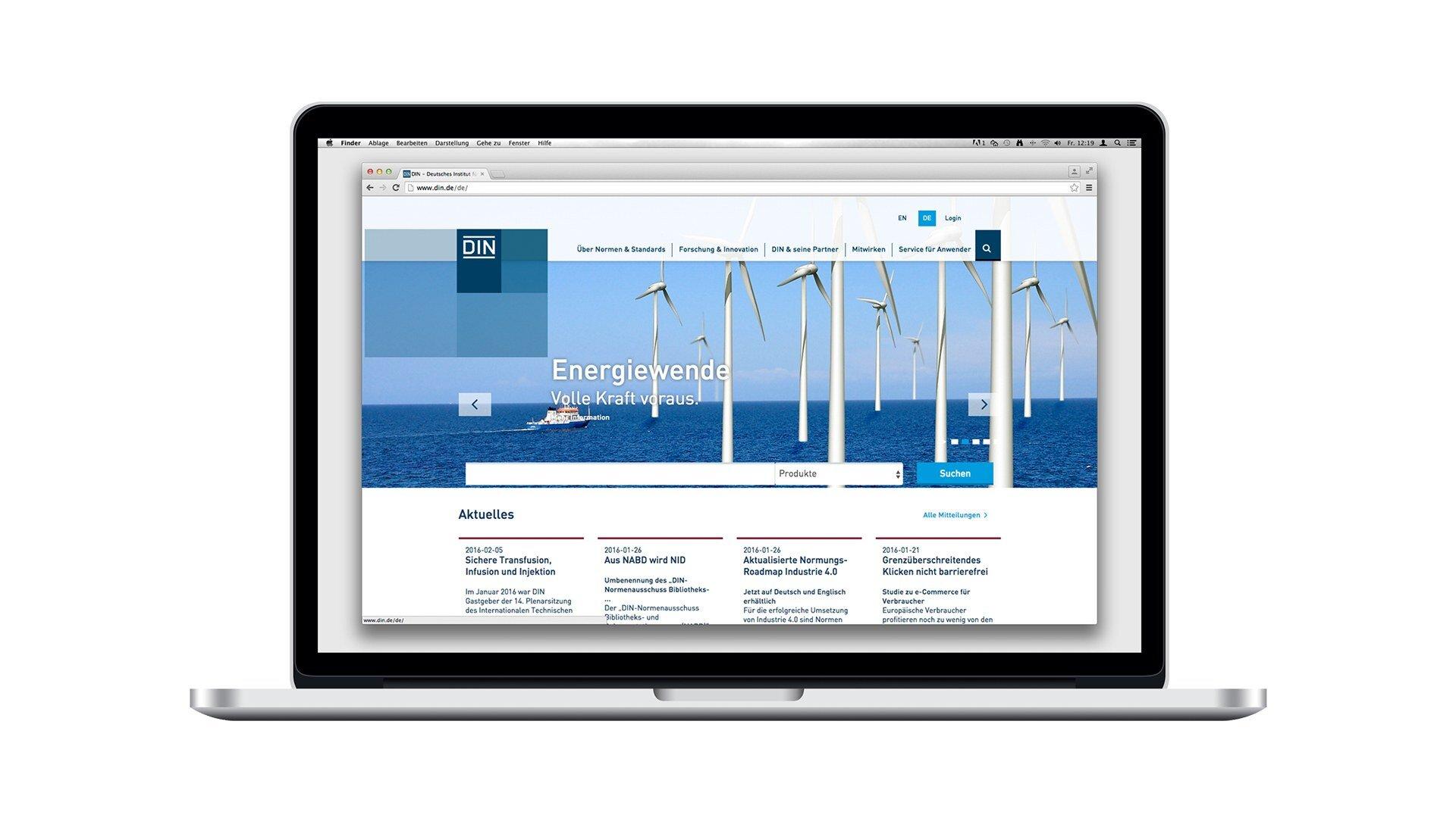 Digitalstrategie durch Webdesign und UX Design