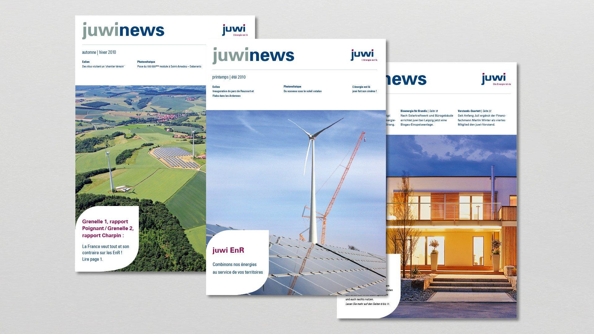juwi Corporate Publishing Mitarbeitermagazin Juwinews