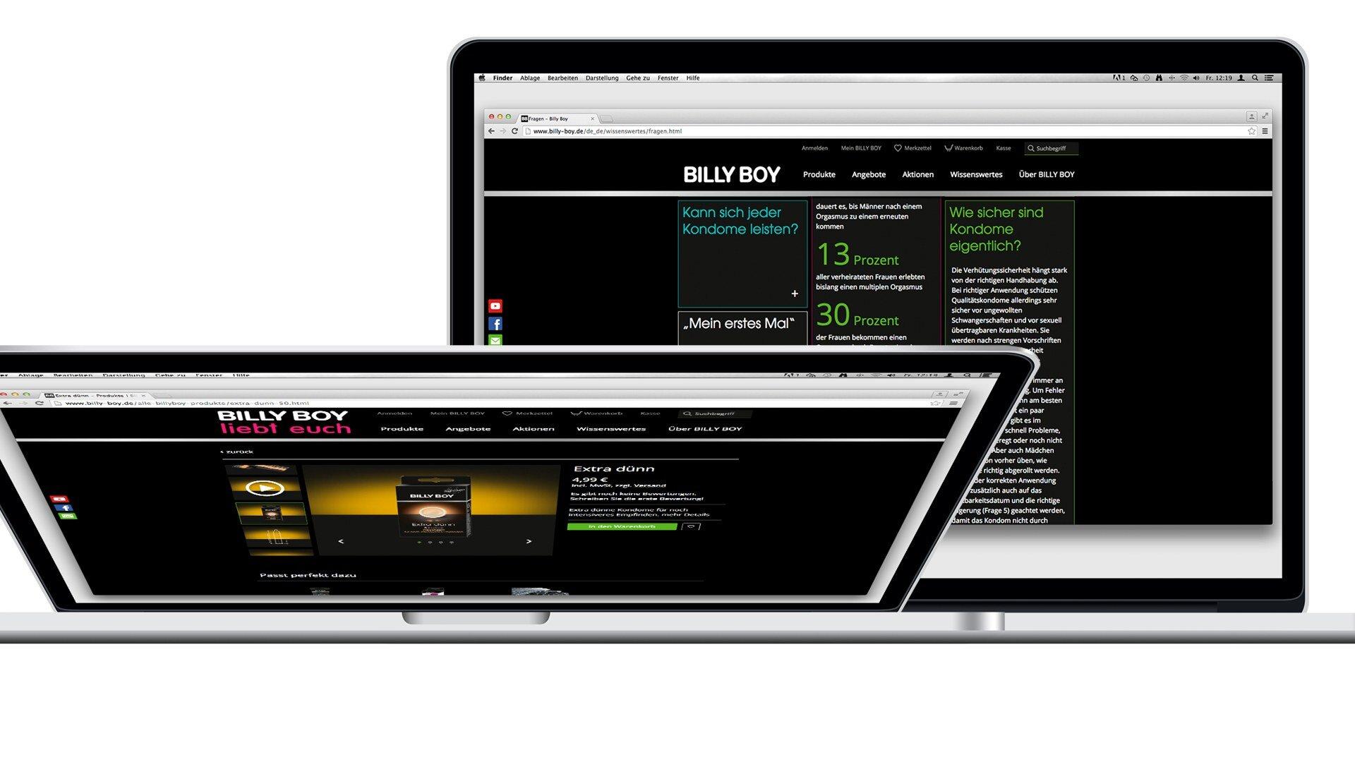 Unterseiten der  Billy Boy Webseite nach dem Relaunch.jpg